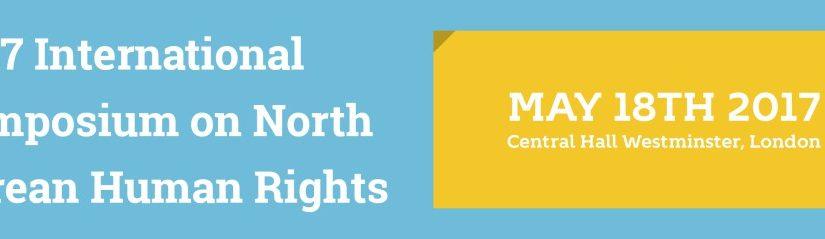 2017 International Symposium on North Korean Human Rights
