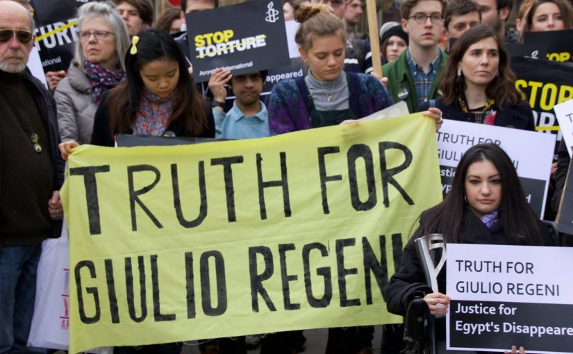 Truth For Giulio Rally–April 22nd, 2016